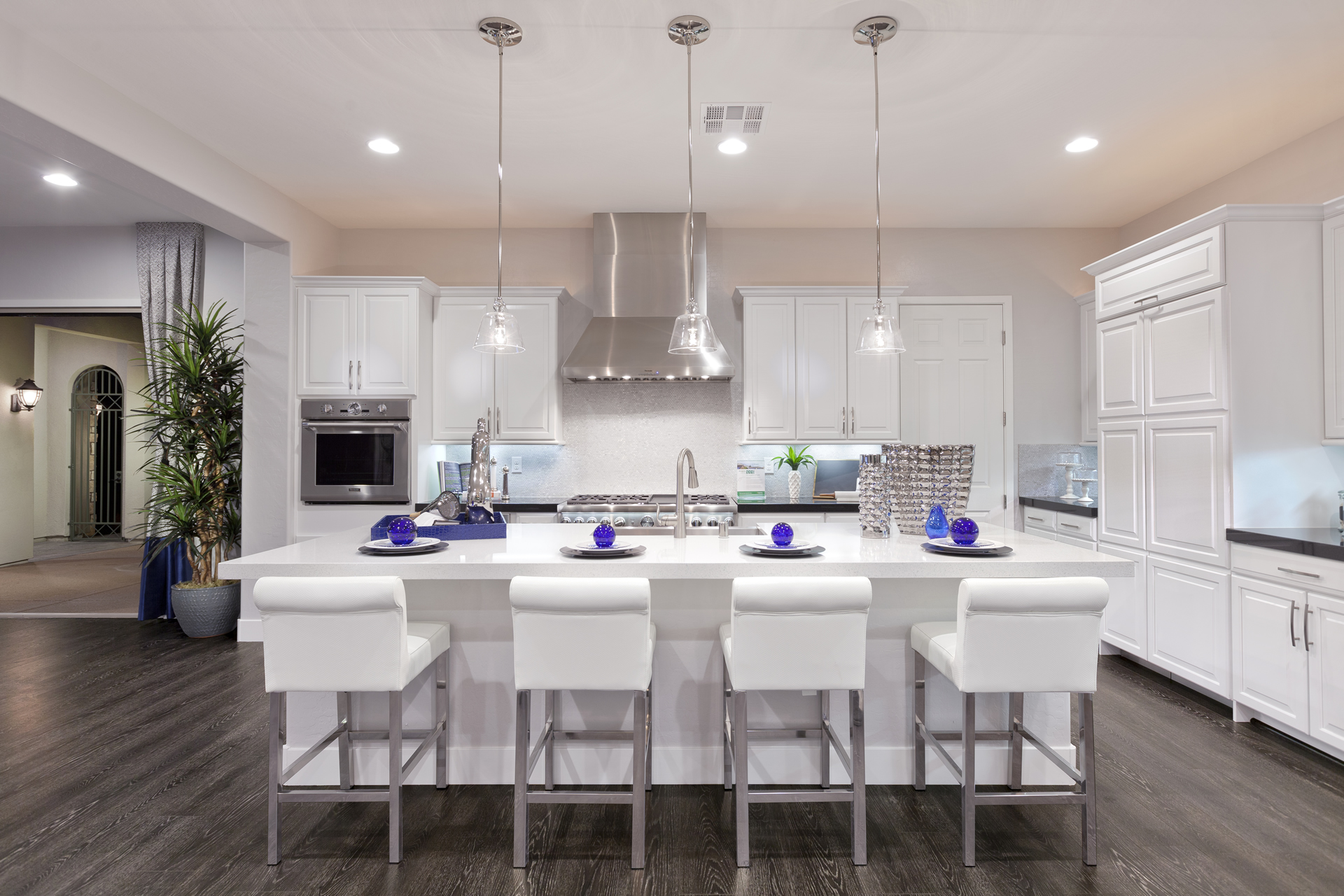 Ryland Homes Marbella Model – Kitchen