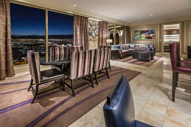 Bellagio 2 Bedroom Penthouse Suite Exterior Remodelling