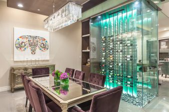 Modern Las Vegas Interior Design, Wine Room – 2015