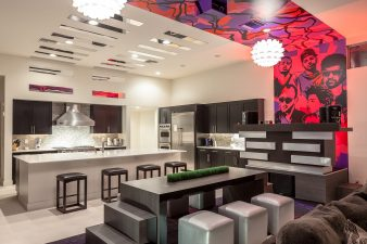 Modern Las Vegas Kitchen and Living – 2014