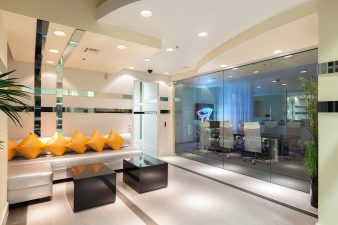 Modern Vegas Office Entry and Conference Room – 2014