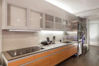 Modern Las Vegas Hi-rise Condo, Kitchen – 2014
