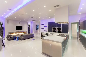 Modern Las Vegas Kitchen and Living Room – 2011