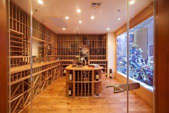Traditional Las Vegas Wine Room and Aquiarium – 2010
