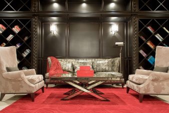 Vegas Transitional Sitting Room – 2009
