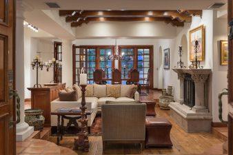 Spanish-Mediterranean Interior Design, Living Room – 2016
