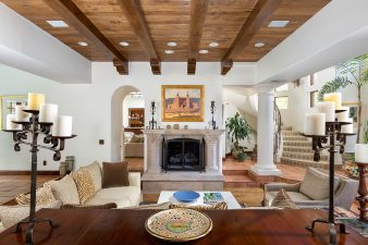 Spanish-Mediterranean Interior Design, Living Room – 2016