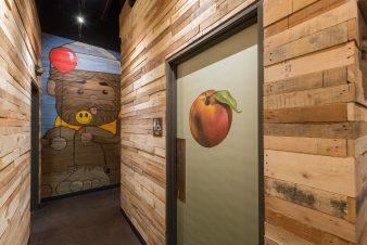 SkinnyFats – Restroom Corridor