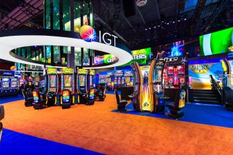 IGT Booth at G2E 2016 Las Vegas