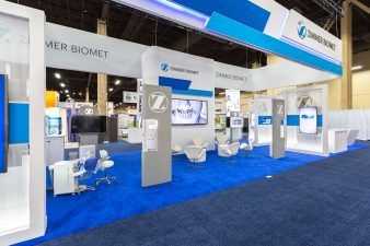 Zimmer Biomet Booth at AAOMS Las Vegas 2016