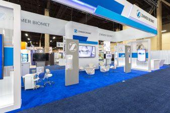 Zimmer Biomet Booth at AAOMS Las Vegas 2016