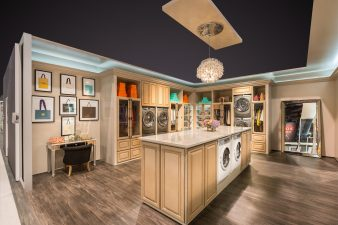 Electrolux Laundry Room at KBIS 2016 Las Vegas (Edited)