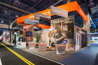 Plantronics Exhibit at CES 2016 Las Vegas