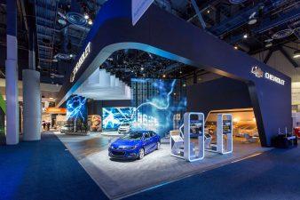Chevrolet Exhibit at CES 2016