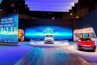 Chevy Bolt Exhibit at CES 2016