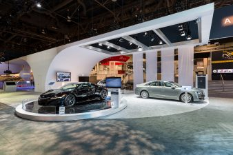 Auto Area at Panasonic Booth at CES 2016 Las Vegas