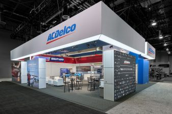 ACDelco Booth at AAPEX 2016 (Exterior-Enhanced)