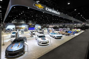 Chevrolet Booth at SEMA Las Vegas 2016 (Booth Overview)