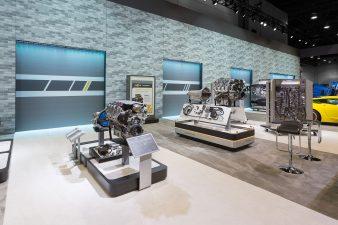 Chevrolet Booth at SEMA Las Vegas 2016 (Engine Blocks)