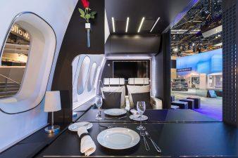 CES2017 Panasonic Aircraft Cabin
