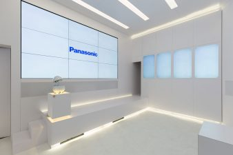 2018 CES Panasonic Video Room