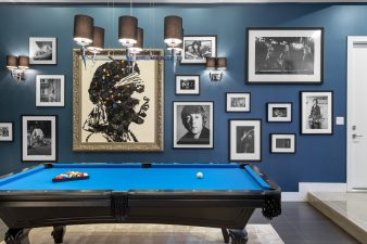 Residential Interior Design 2018 – Billiards Room