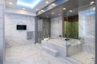 Residential Interior Design 2018 – Showers & Bath