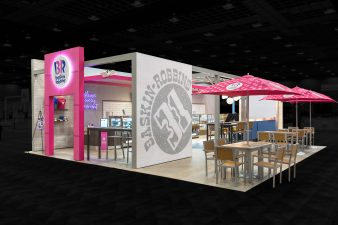 2018 Dunkin Convention Baskin Robbins Mock Store