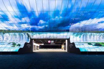 CES 2019 LG Exhibit Entrance