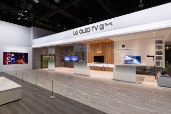 CES 2019 LG Exhibit