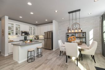 Woodside Homes San Remo Townhomes Model