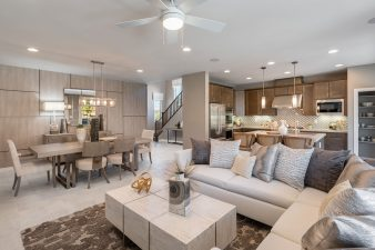 Woodside Homes Alta Fiore Community Model Home